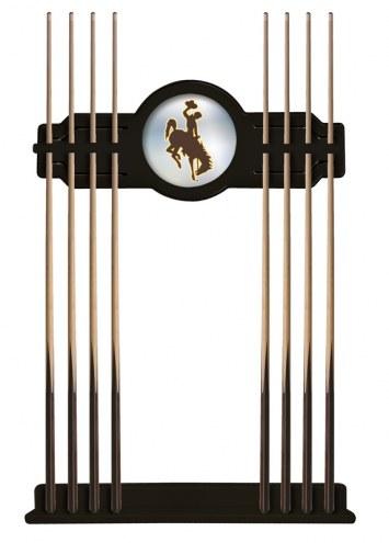 Wyoming Cowboys Pool Cue Rack