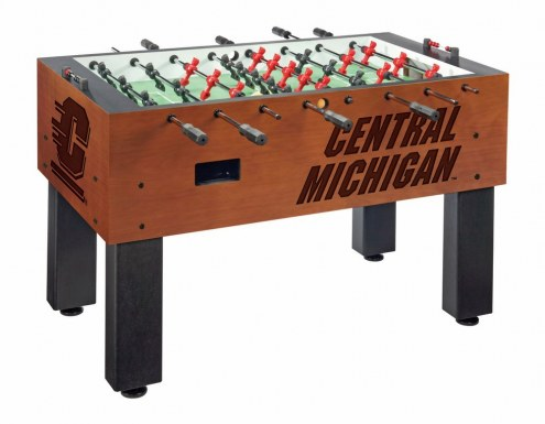 Central Michigan Chippewas Foosball Table