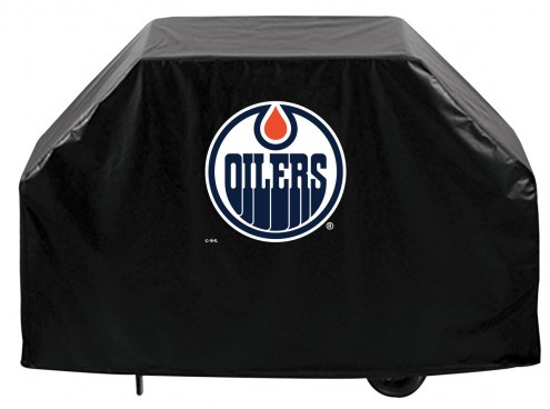 Edmonton Oilers Logo Grill Cover