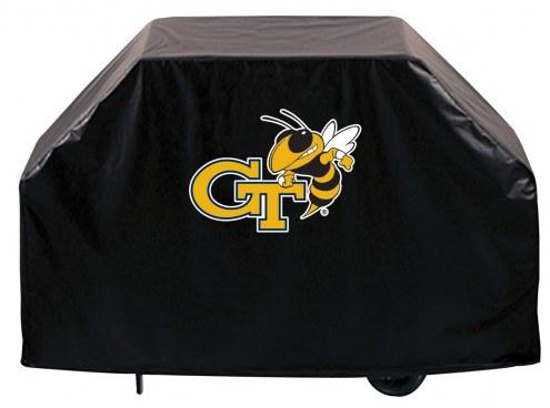 Georgia Tech Yellow Jackets Logo Grill Cover