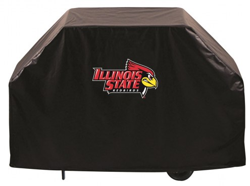 Illinois State Redbirds Logo Grill Cover