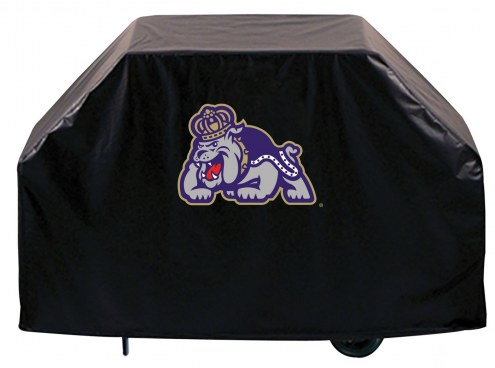 James Madison Dukes Logo Grill Cover