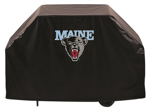 Maine Black Bears Logo Grill Cover