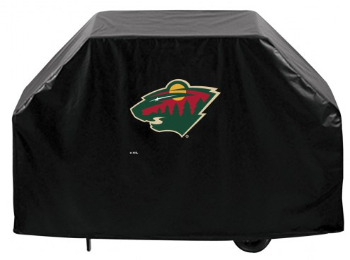 Minnesota Wild Logo Grill Cover