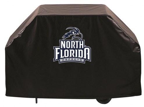North Florida Ospreys Logo Grill Cover