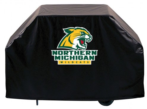 Northern Michigan Wildcats Logo Grill Cover