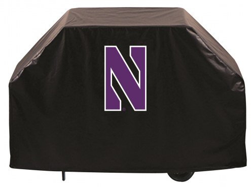 Northwestern Wildcats Logo Grill Cover