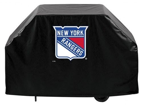 New York Rangers Logo Grill Cover