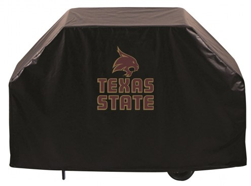 Texas State Bobcats Logo Grill Cover