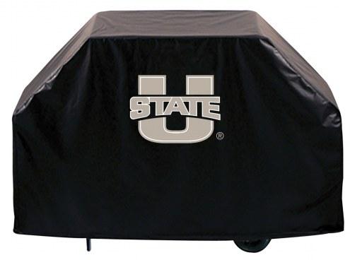 Utah State Aggies Logo Grill Cover