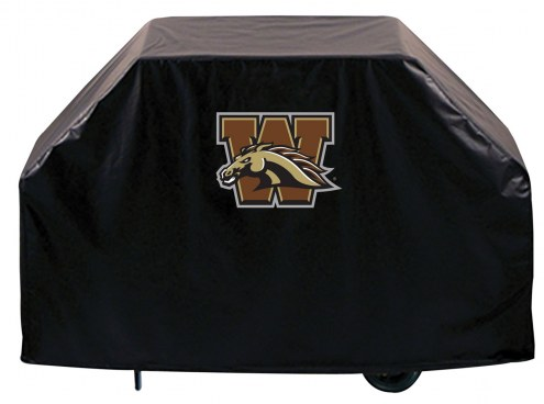 Western Michigan Broncos Logo Grill Cover