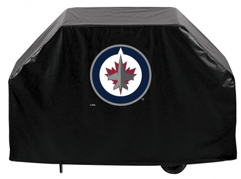 Winnipeg Jets Logo Grill Cover