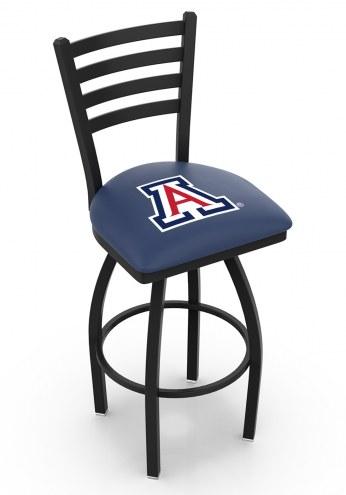 Arizona Wildcats Swivel Bar Stool with Ladder Style Back