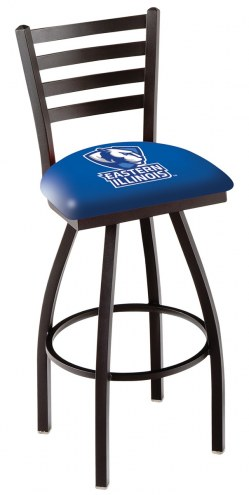 Eastern Illinois Panthers Swivel Bar Stool with Ladder Style Back