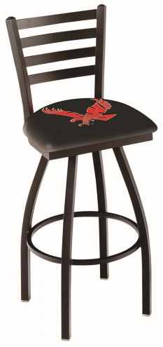 Eastern Washington Eagles Swivel Bar Stool with Ladder Style Back