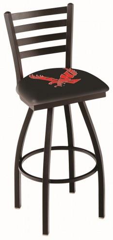 Eastern Washington Eagles Swivel Bar Stool with Ladder Style Back