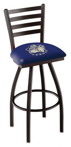 Georgetown Hoyas Swivel Bar Stool with Ladder Style Back