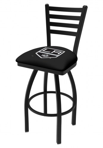 Los Angeles Kings Swivel Bar Stool with Ladder Style Back