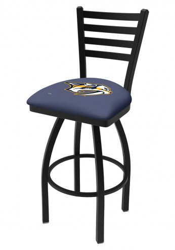 Nashville Predators Swivel Bar Stool with Ladder Style Back