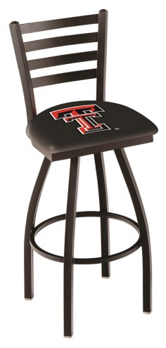 Texas Tech Red Raiders Swivel Bar Stool with Ladder Style Back