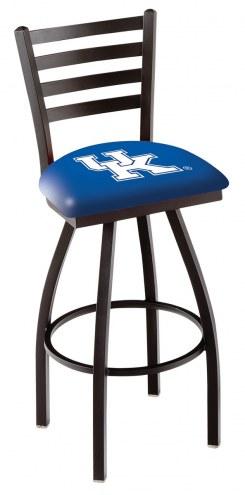 Kentucky Wildcats NCAA Swivel Bar Stool with Ladder Style Back