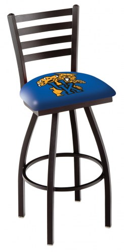 Kentucky Wildcats Swivel Bar Stool with Ladder Style Back