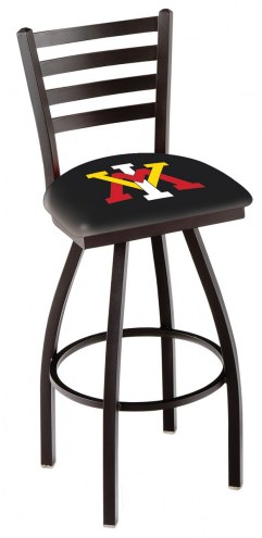 Virginia Military Institute Keydets Swivel Bar Stool with Ladder Style Back