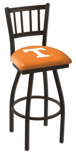 Tennessee Volunteers Swivel Bar Stool with Jailhouse Style Back