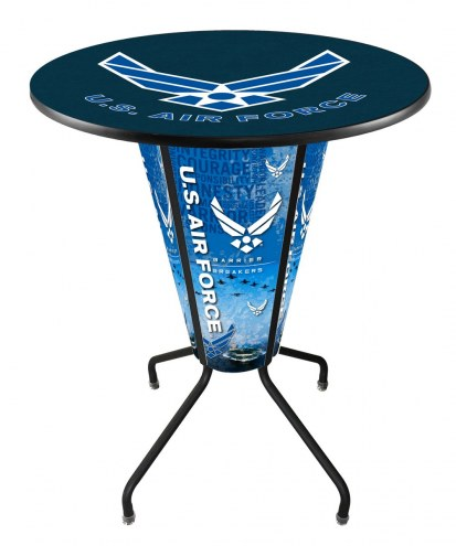 Air Force Falcons Indoor Lighted Pub Table