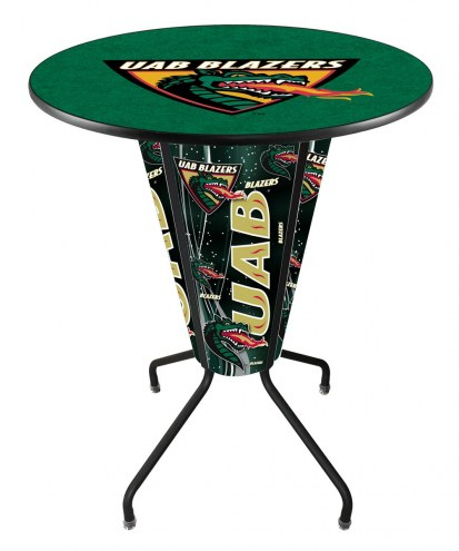 UAB Blazers Indoor/Outdoor Lighted Pub Table