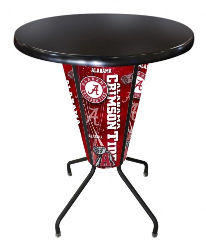 Alabama Crimson Tide Indoor Lighted Pub Table