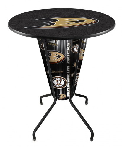 Anaheim Ducks Indoor Lighted Pub Table