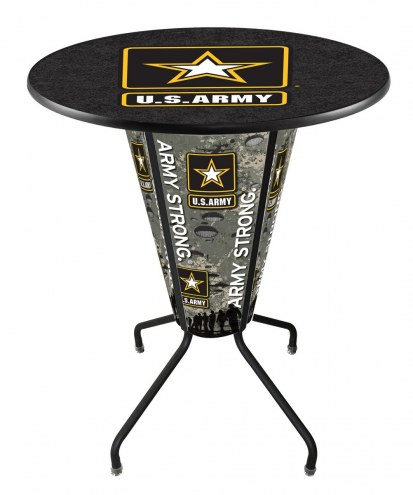 Army Black Knights Indoor Lighted Pub Table
