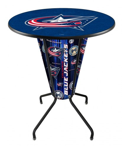 Columbus Blue Jackets Indoor/Outdoor Lighted Pub Table