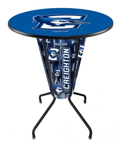 Creighton Bluejays Indoor/Outdoor Lighted Pub Table
