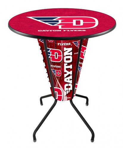 Dayton Flyers Indoor Lighted Pub Table