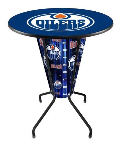 Edmonton Oilers Indoor Lighted Pub Table