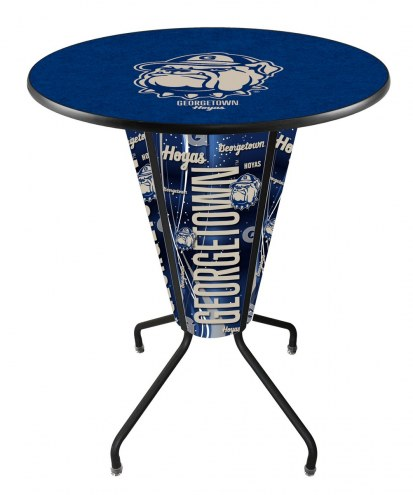 Georgetown Hoyas Indoor Lighted Pub Table