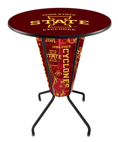 Iowa State Cyclones Indoor Lighted Pub Table