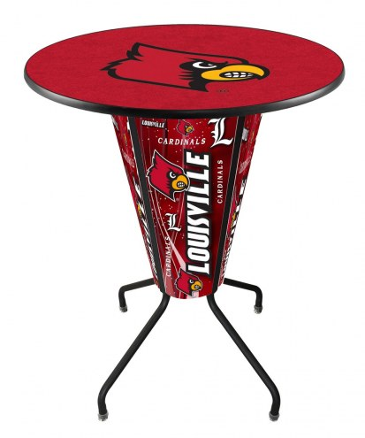 Louisville Cardinals Indoor/Outdoor Lighted Pub Table