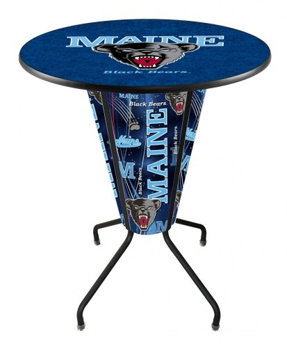 Maine Black Bears Indoor/Outdoor Lighted Pub Table