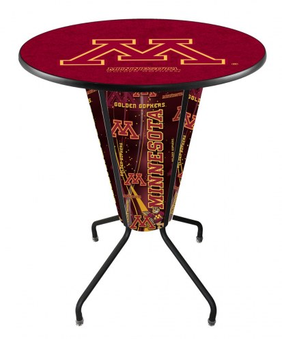 Minnesota Golden Gophers Indoor Lighted Pub Table