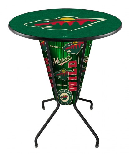 Minnesota Wild Indoor Lighted Pub Table