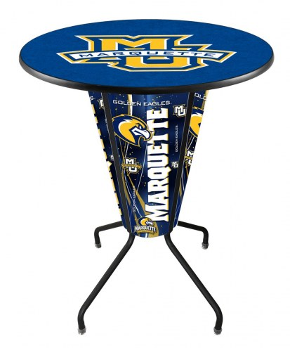 Marquette Golden Eagles Indoor Lighted Pub Table
