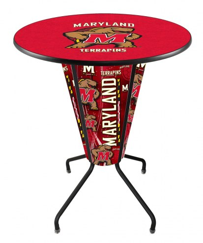 Maryland Terrapins Indoor/Outdoor Lighted Pub Table