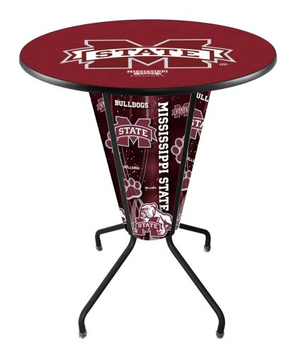 Mississippi State Bulldogs Indoor Lighted Pub Table