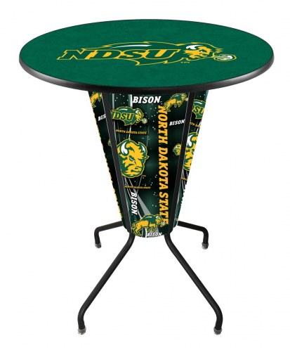 North Dakota State Bison Indoor/Outdoor Lighted Pub Table