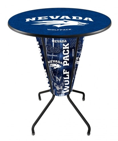 Nevada Wolf Pack Indoor Lighted Pub Table