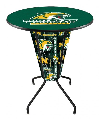 Northern Michigan Wildcats Indoor/Outdoor Lighted Pub Table