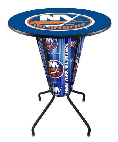 New York Islanders Indoor/Outdoor Lighted Pub Table